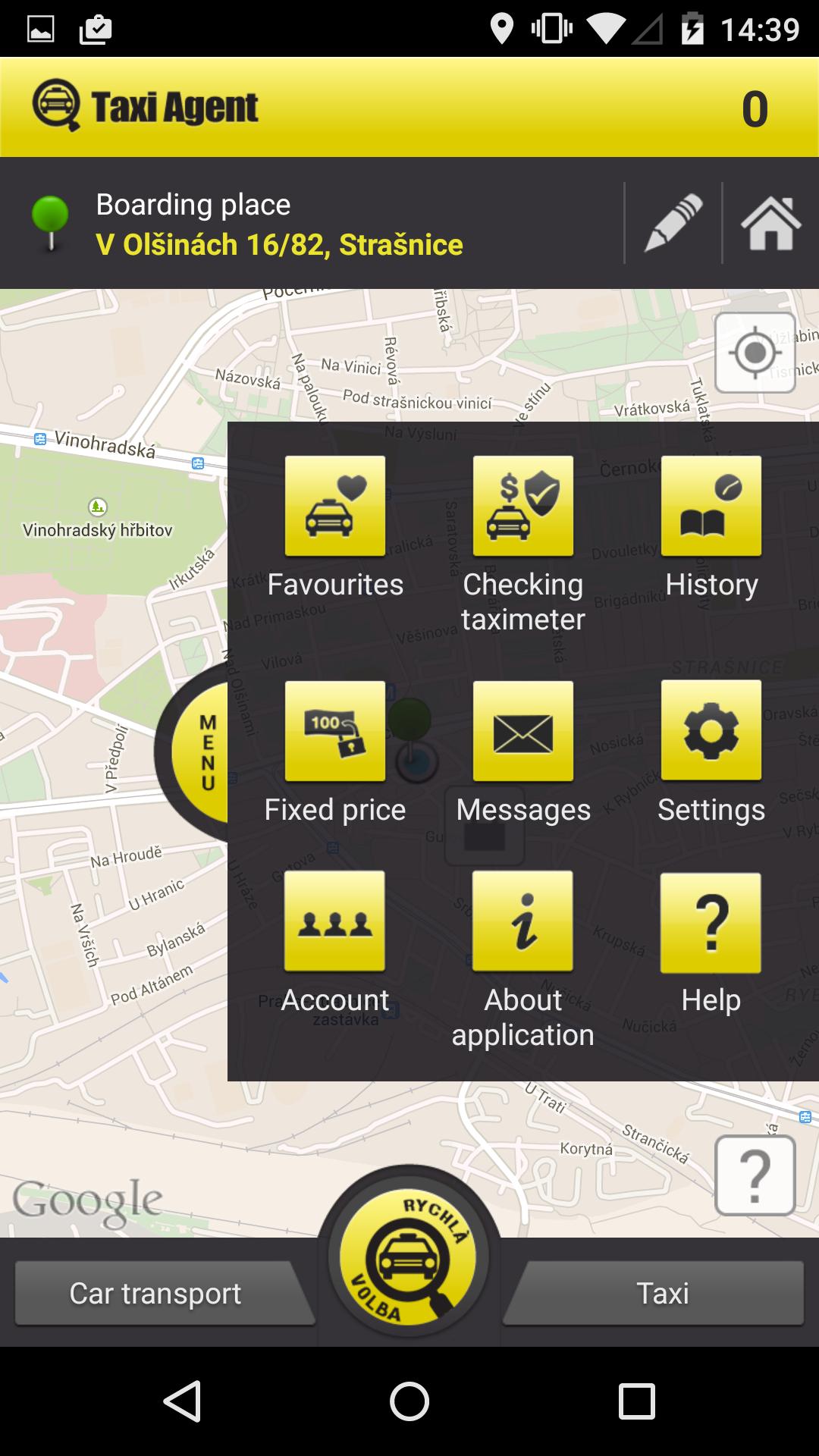 passenger information mobile application marta