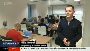 FIlip Bocek - Ekonomika ČT24 (3.1.2013)