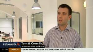 Tomáš Čermák - Ekonomika ČT24 (23.4.2013)