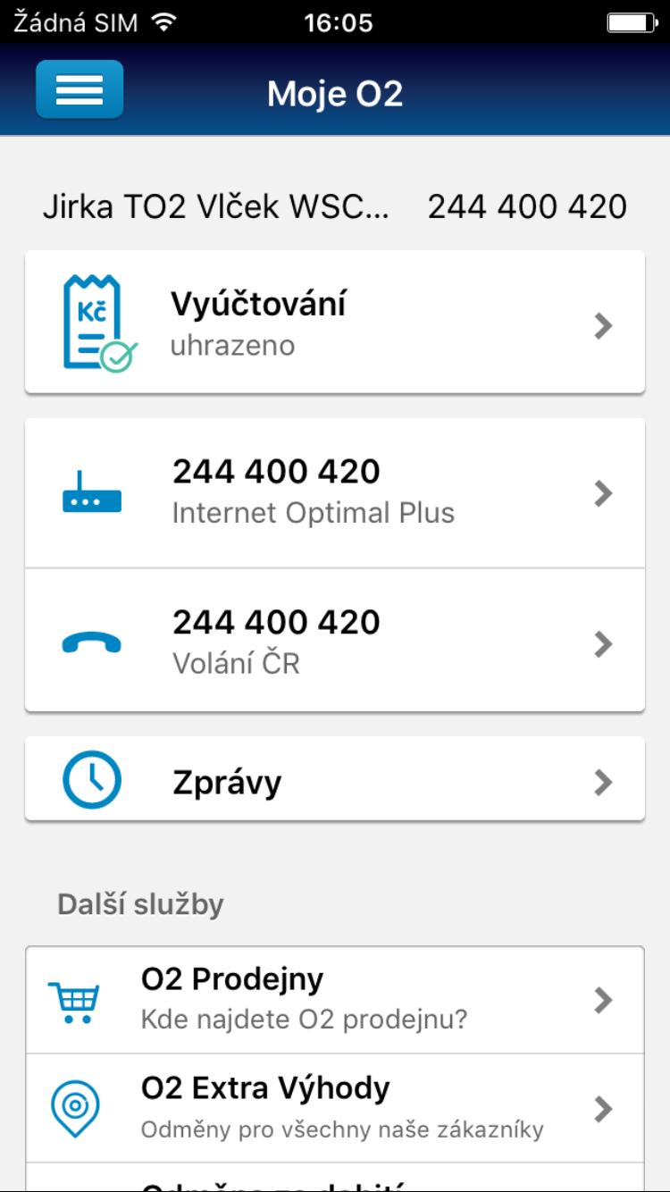 Mobile application Moje O2 | eMan