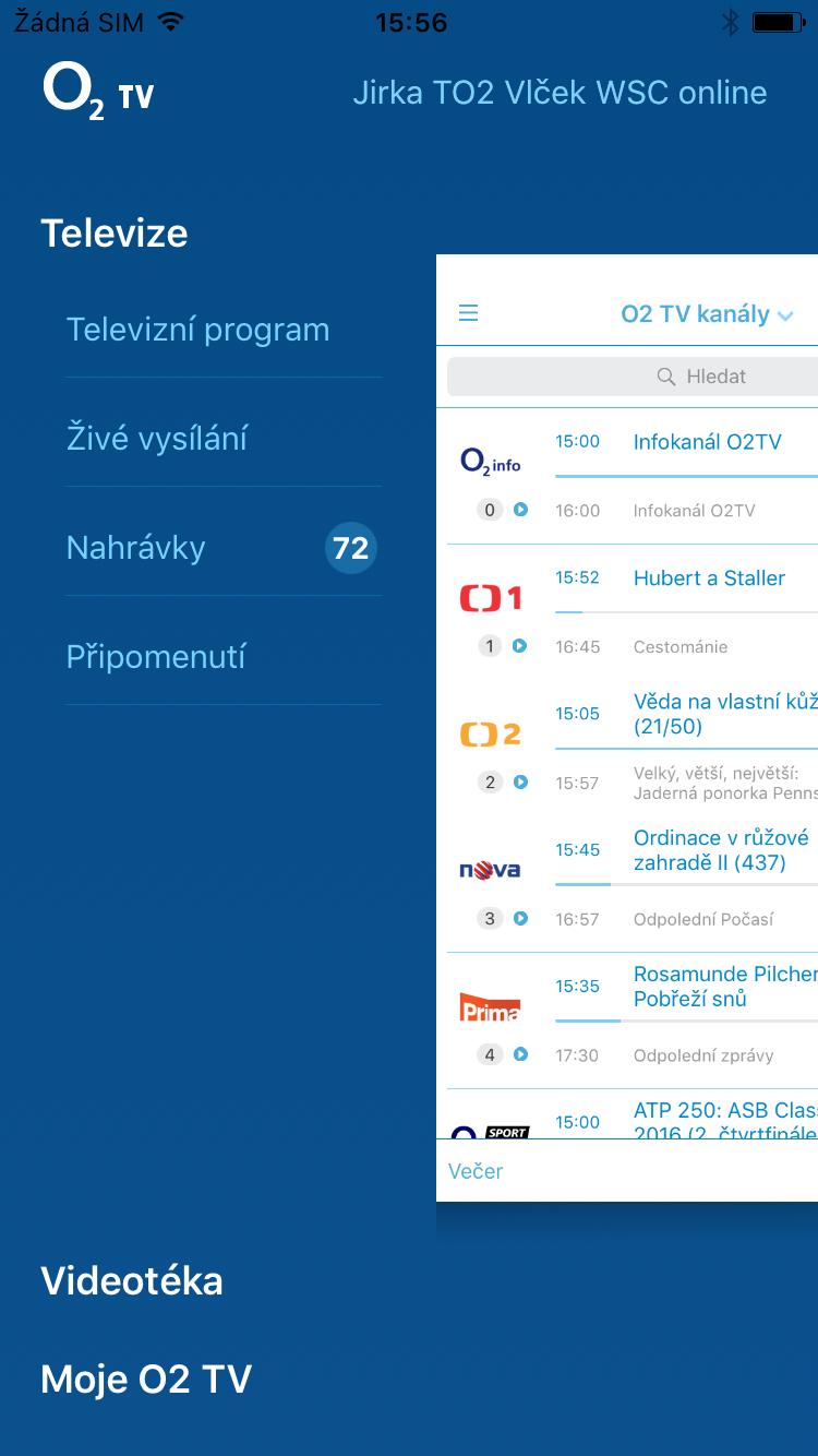 O2 TV Mobile application | eMan