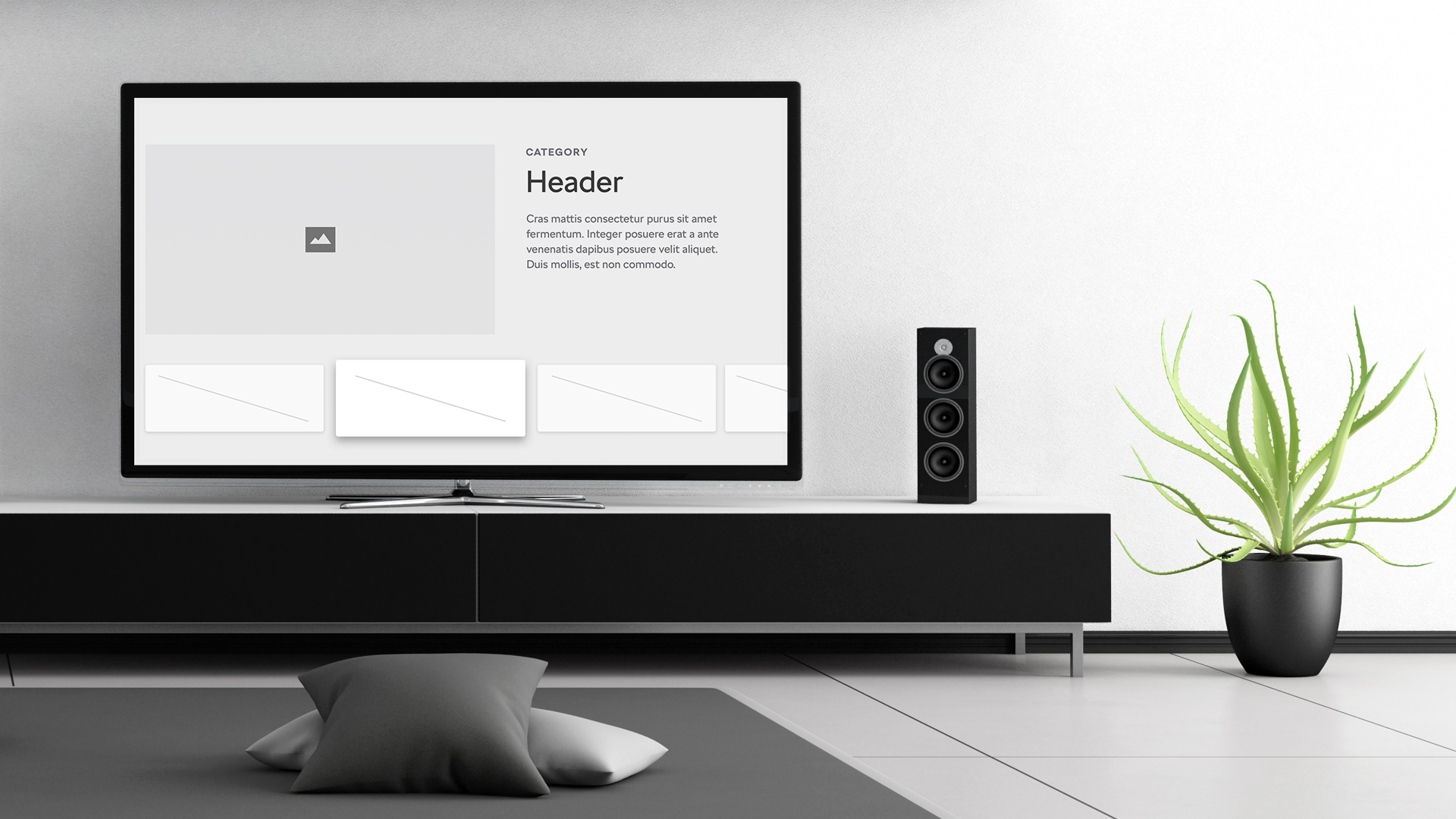 app for smart TV, smart television