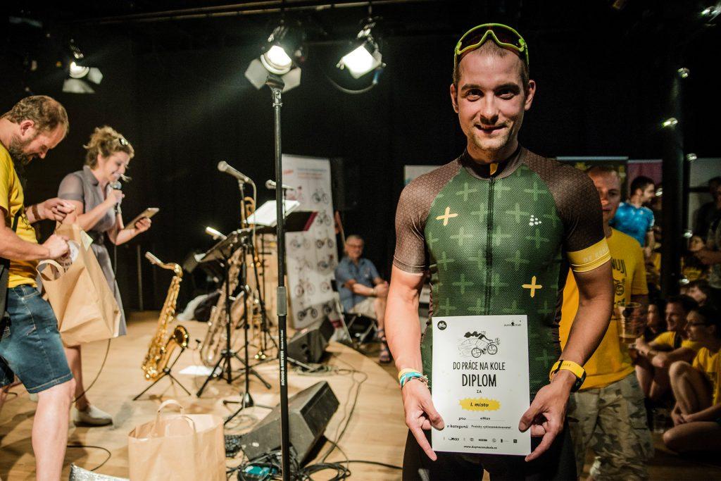 Michal Koek, bike to work 2018, eman