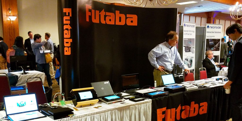 futaba automotive vehicle display