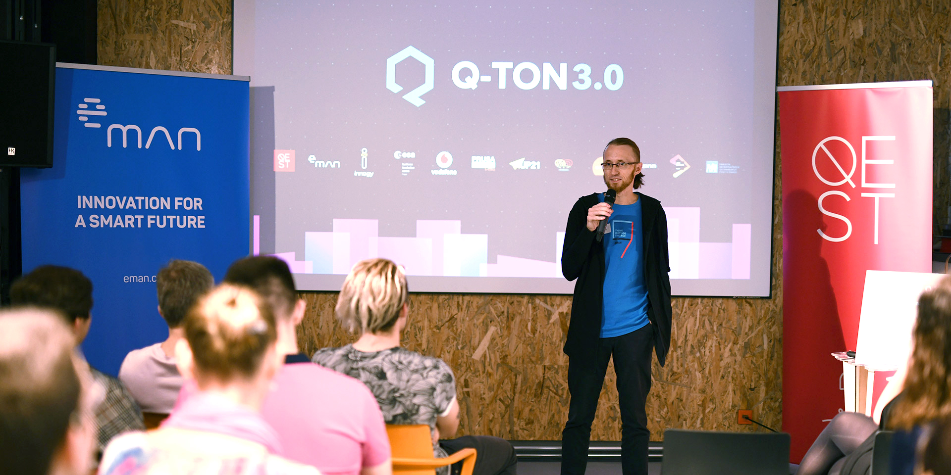 Hackathon Q-ton, eMan, Jiri Pech