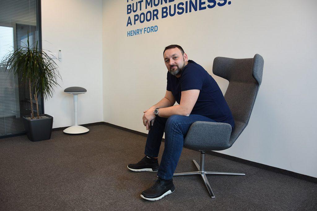 Jiri Horyna, CEO eMan