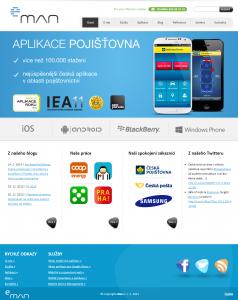 Starý web eman.cz (podzim 2010 - 28.2.2014)