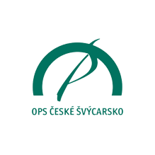 České Švýcarsko o. p. s. logo