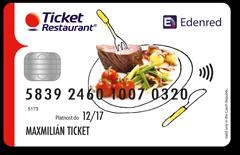Ticket Restaurant Card (TRC)
