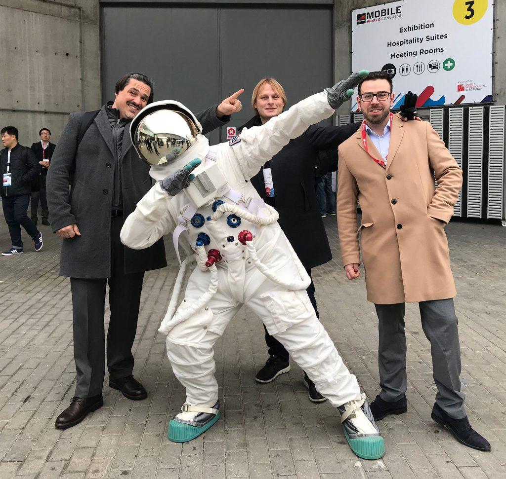 Gabriel Szalay, Lukas Krizko, Jan Horyna, cosmonaut