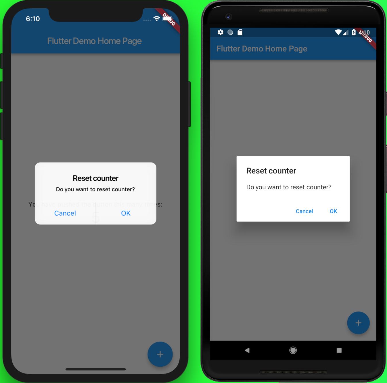 Let's Develop a Mobile App in Flutter